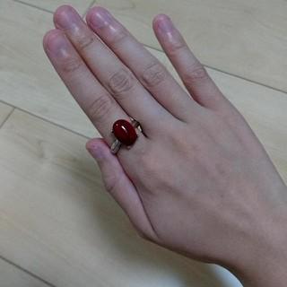 天然石 指輪 ハウライト 染め(リング(指輪))