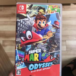 ニンテンドースイッチ(Nintendo Switch)のスーパーマリオ オデッセイ(携帯用ゲーム本体)