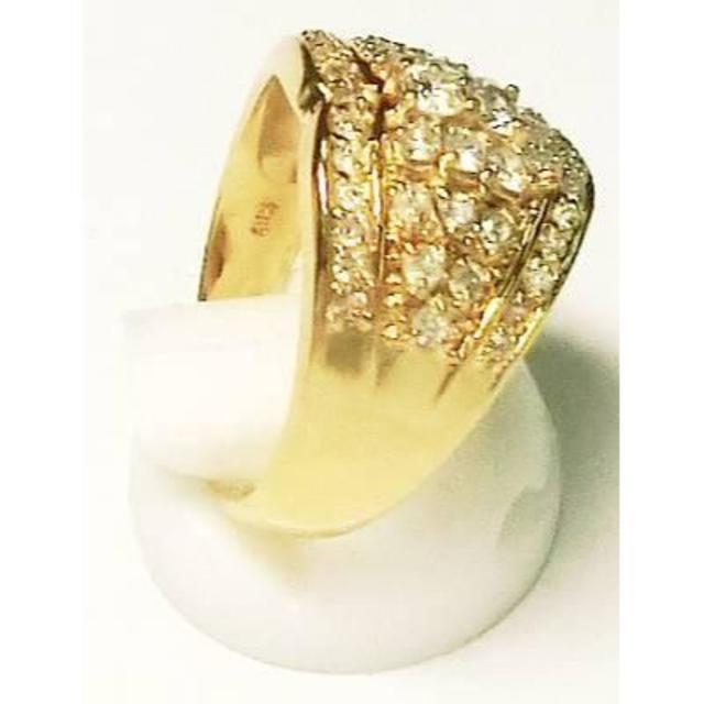 時間セール K18 1.03 ダイヤ リング 指輪 レディースのアクセサリー(リング(指輪))の商品写真