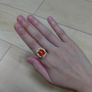 天然石 指輪 キャッツアイ(リング(指輪))