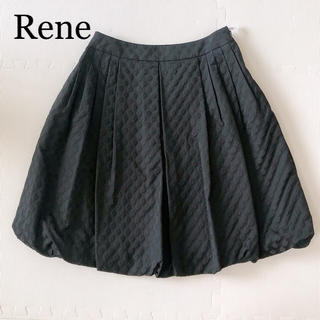 ルネ(René)のRene♡お花柄バルーンスカート(ひざ丈スカート)