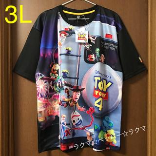 トイストーリー(トイ・ストーリー)のトイストーリー4 メッシュ tシャツ 3L(Tシャツ/カットソー(半袖/袖なし))