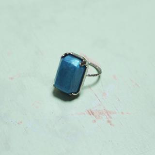 エディットフォールル(EDIT.FOR LULU)の群青色のゆびわ(リング(指輪))
