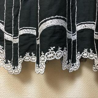 ミナペルホネン(mina perhonen)の美品 waltzスカート サイズ38(ひざ丈スカート)