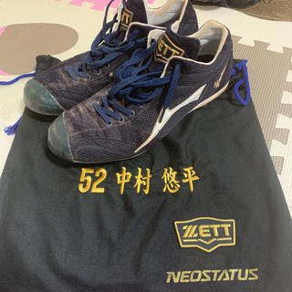 ZETT - Ys中村悠平選手実使用スパイク