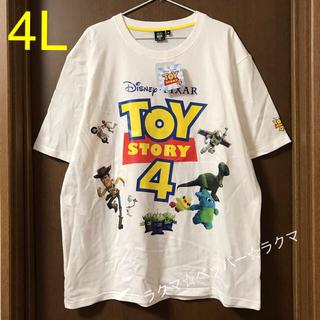 トイストーリー(トイ・ストーリー)のトイストーリー4 tシャツ 4L(Tシャツ/カットソー(半袖/袖なし))