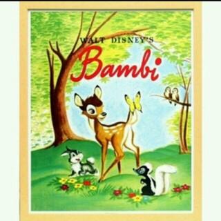 ディズニー(Disney)のバンビのポスター&ピンバッジ(ポスター)