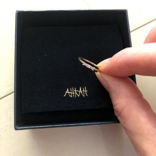 アーカー(AHKAH)のアーカー☆タイリング☆7号(リング(指輪))