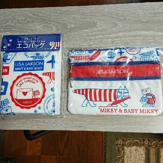 リサラーソン(Lisa Larson)のリサラーソン 郵政コラボ エコバッグ(エコバッグ)