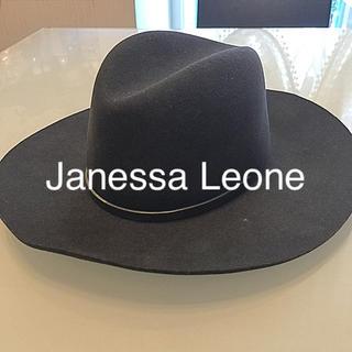 ドゥーズィエムクラス(DEUXIEME CLASSE)のJanessa Leone ジャネッサレオン ウール ハット 帽子(ハット)