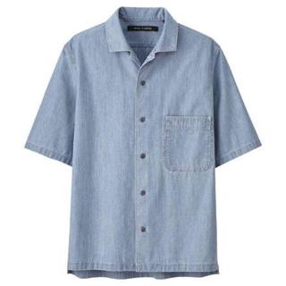 UNIQLO - ユニクロ ルメール MEN シャンブレーシャツ 半袖 ユニクロU