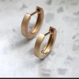 jupiter GOLD LABEL - JUPITER ジュピター gold straight hoopピアス
