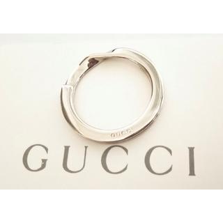 グッチ(Gucci)の✴️正規品✴️GUCCI/グッチ キーリング ① シルバーカラー ①(キーホルダー)