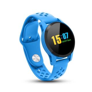 格安✨防水スマートウオッチ ブルー✨新品(腕時計(デジタル))