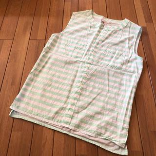 ギャップ(GAP)のGAP ノースリーブブラウス(シャツ/ブラウス(半袖/袖なし))