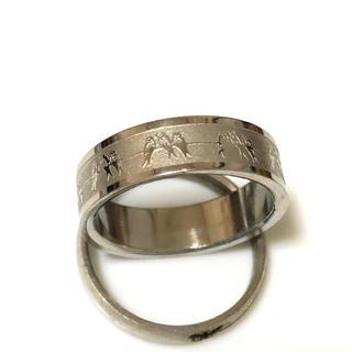同時購入で300円 ステンレス指輪 ツバメ(リング(指輪))