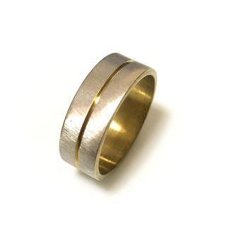 同時購入で300円 ステンレス指輪 ワンライン(リング(指輪))