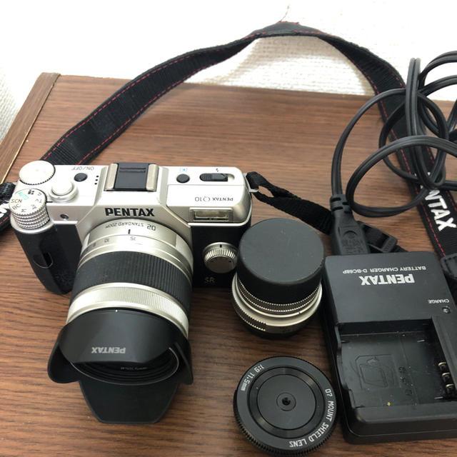 PENTAX(ペンタックス)のPENTAX デジタル一眼レフ ペンタックスQ10 レンズキット スマホ/家電/カメラのカメラ(デジタル一眼)の商品写真