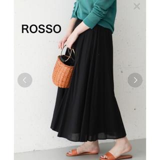 アーバンリサーチロッソ(URBAN RESEARCH ROSSO)のちゃみ様専用  美品❤️ROSSO コットンマキシスカート(ロングスカート)