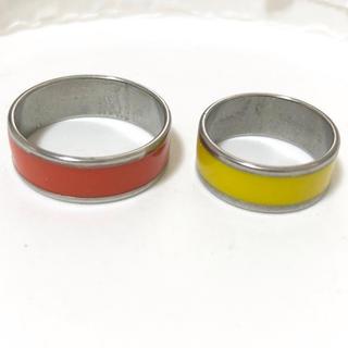 ステンレス指輪カラー 2点セット(リング(指輪))