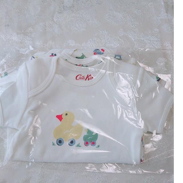 Cath Kidston(キャスキッドソン)の【新品】おまけ付き  キャスキットソン ロンパース 70 キッズ/ベビー/マタニティのベビー服(~85cm)(ロンパース)の商品写真