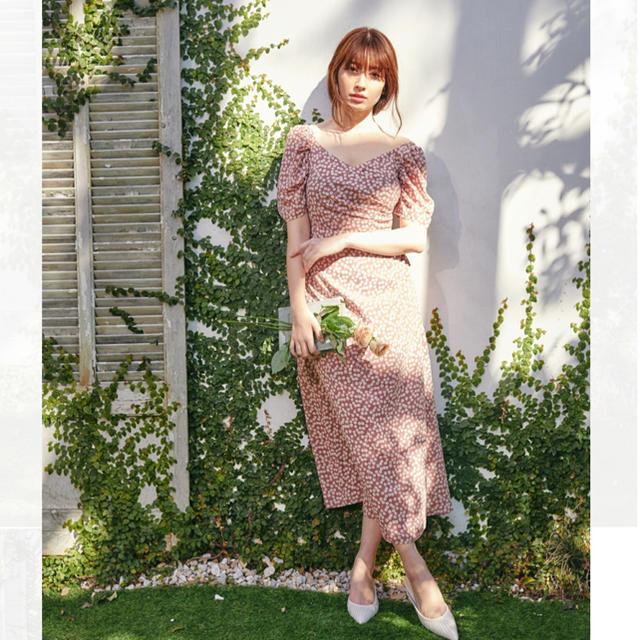 AKB48(エーケービーフォーティーエイト)のherlipto チェリーワンピース レディースのワンピース(ロングワンピース/マキシワンピース)の商品写真