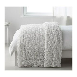 IKEA - イケア OFELIA 毛布 オフェーリア ホワイト タオルケット ガーゼ