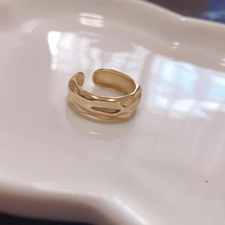 silver925 シルバー リング 指輪 18kコーティング(リング(指輪))