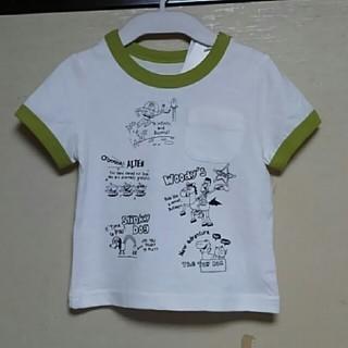 トイストーリー(トイ・ストーリー)の【新品】90 トイ・ストーリー 胸ポケット付Tシャツ(Tシャツ/カットソー)