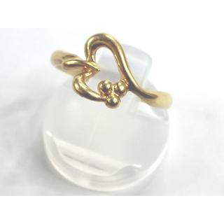 イエローゴールド 指輪 K18 1.9g(リング(指輪))