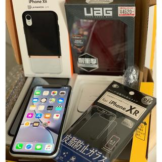 アイフォーン(iPhone)のsimフリー iPhone XR 128GB 白 ホワイト 【連休割】(スマートフォン本体)