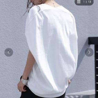 アンティカ(antiqua)のantique★VネックT(Tシャツ(半袖/袖なし))