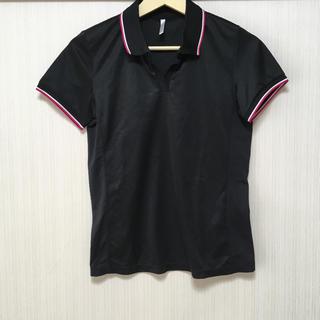 ユニクロ(UNIQLO)のちゅーち様専用 ユニクロ ドライメッシュ スキッパー ポロシャツ M(ポロシャツ)