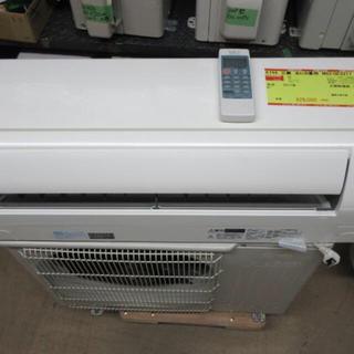 ミツビシ(三菱)のK744 三菱 中古エアコン 主に6畳用 冷2.2kw/暖2.5kw(エアコン)