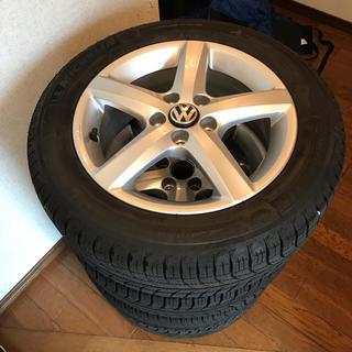 フォルクスワーゲン(Volkswagen)のVW 純正品ホイール スタッドレスタイヤ ミシュラン(タイヤ・ホイールセット)