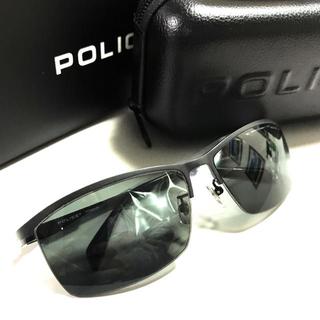 ポリス(POLICE)の正規品 POLICE ポリス ブラックレンズ サングラスセット(サングラス/メガネ)
