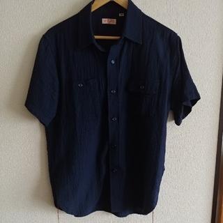Sugar Cane - シュガーケーンのドットドビーワークシャツ