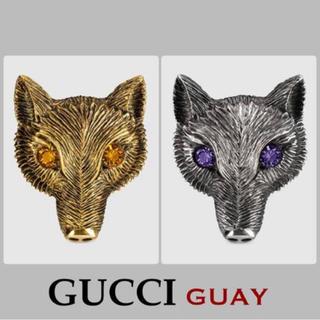 グッチ(Gucci)のGUCCI キツネ リング ※お値下げ中(リング(指輪))