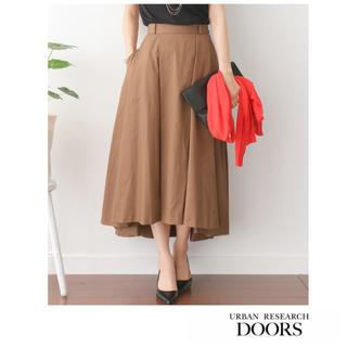 ドアーズ(DOORS / URBAN RESEARCH)のURBAN RESEARCH DOORS タックロングスカート(ロングスカート)