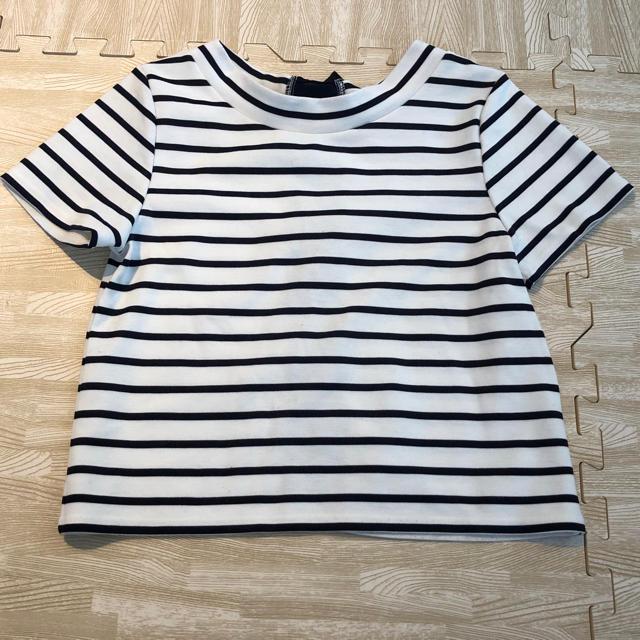 mysty woman(ミスティウーマン)のミスティウーマン ボーダー トップス レディースのトップス(Tシャツ(半袖/袖なし))の商品写真