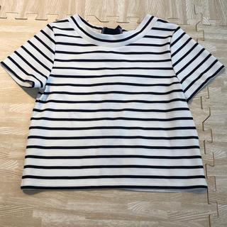 ミスティウーマン(mysty woman)のミスティウーマン ボーダー トップス(Tシャツ(半袖/袖なし))