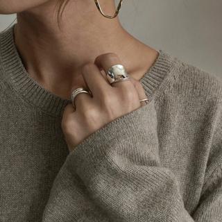 トゥデイフル(TODAYFUL)のシルバー 大ぶりリング シルバー925 silver925 リング  (リング(指輪))