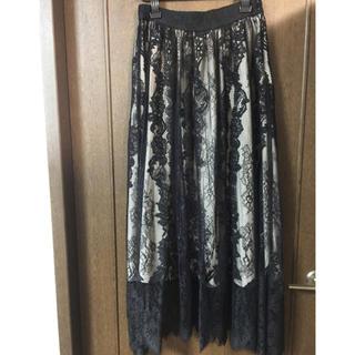 グレースコンチネンタル(GRACE CONTINENTAL)の極微品グレースコンチネンタルロングスカートサイズ36(ロングスカート)