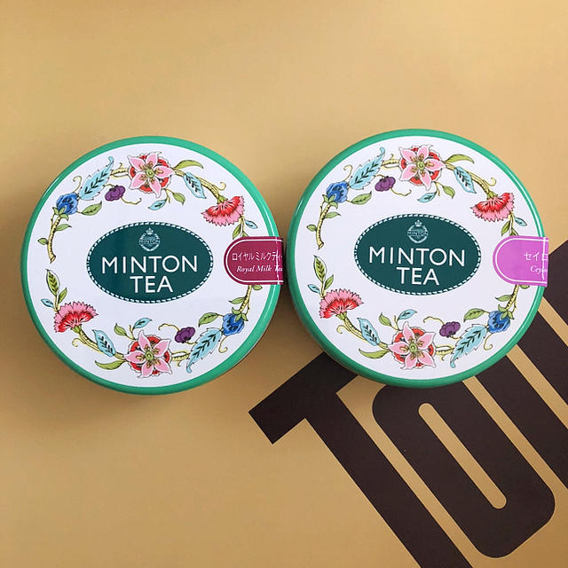 MINTON(ミントン)のミントン 紅茶 ロイヤルミルクティ セイロンティ セット 食品/飲料/酒の飲料(茶)の商品写真