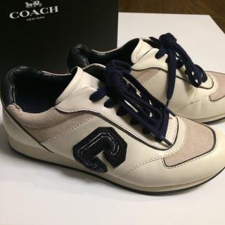 コーチ(COACH)の値下げ★コーチ☆スニーカー☆サイズ約24.5cm☆レディース(スニーカー)