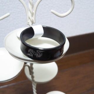 ステンレスリング 黒ドラゴン(リング(指輪))