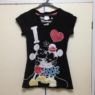 ディズニー(Disney)のミキミニTシャツ(Tシャツ(半袖/袖なし))