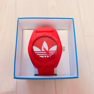 アディダス(adidas)の値下げしました!adidas 時計 レッド(腕時計(アナログ))