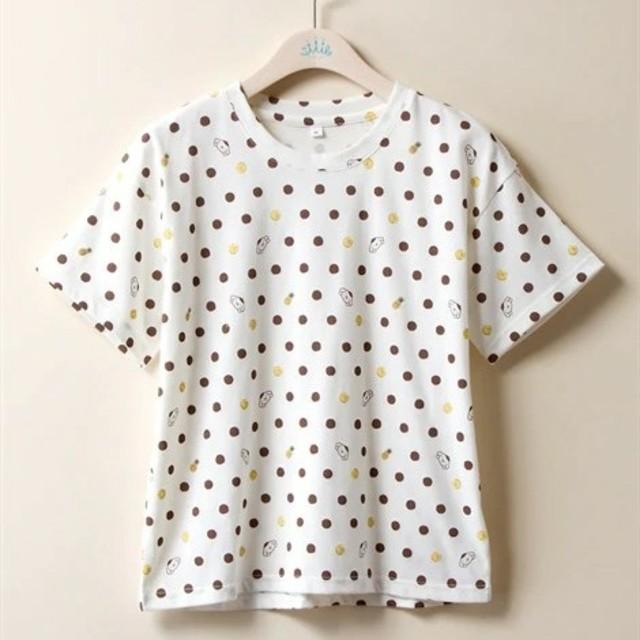 ポムポムプリン(ポムポムプリン)のポムポムプリン Tシャツ LL レディースのトップス(Tシャツ(半袖/袖なし))の商品写真