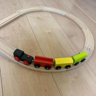 イケア(IKEA)のIKEA 木の電車(電車のおもちゃ/車)